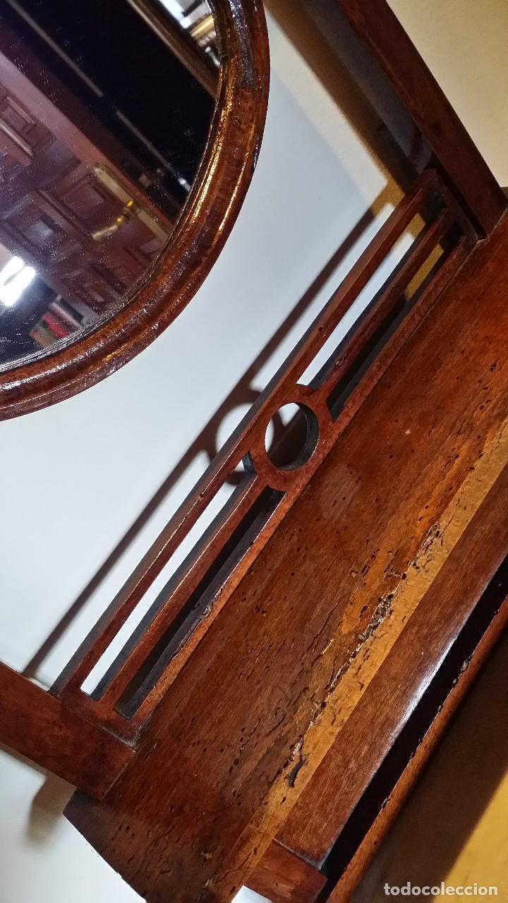 Antigüedades: Mueble antiguo con palangana SOLO MADRID / ULTIMOS DIAS - Foto 5 - 152874186