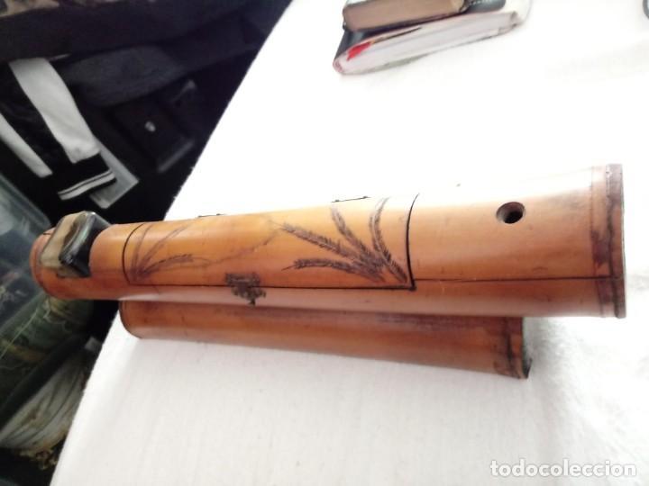 Antigüedades: pluma artesana - Foto 6 - 152896426