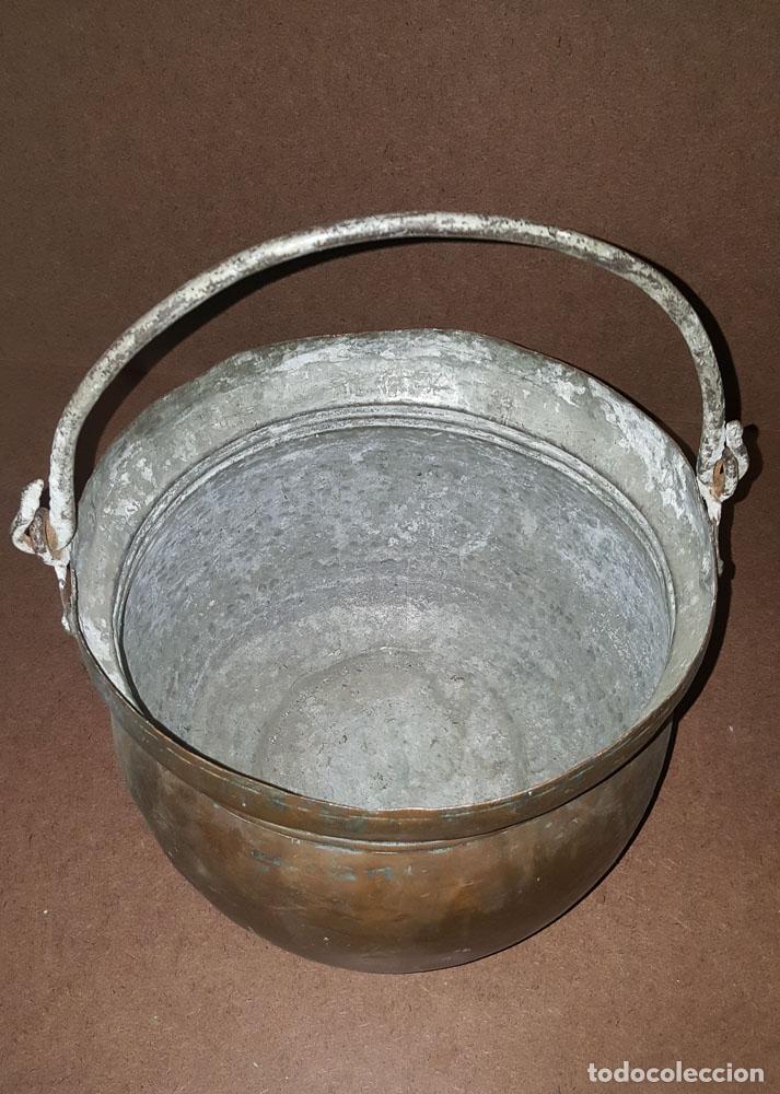 Antigüedades: CALDERA DE COBRE - Foto 3 - 152921790