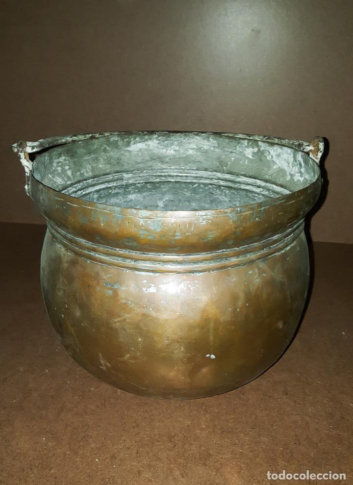 Antigüedades: CALDERA DE COBRE - Foto 4 - 152921790