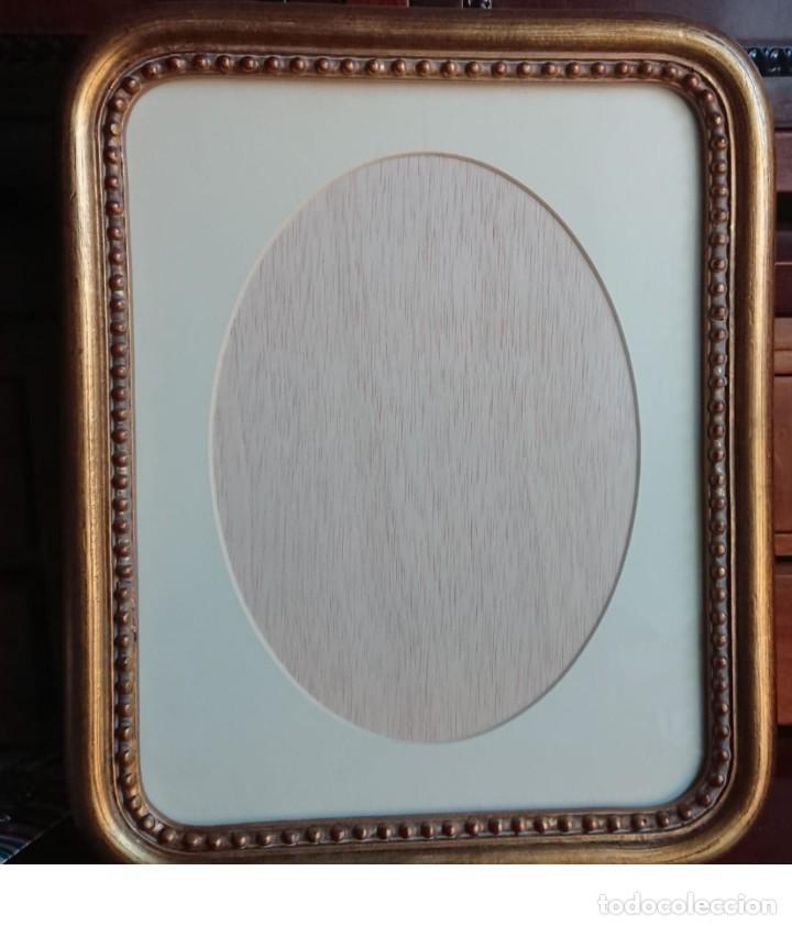 ANTIGUO MARCO PORTAFOTOS ESTILO ISABELINO PRINCIPIOS DEL SIGLO XX (Antigüedades - Hogar y Decoración - Portafotos Antiguos)