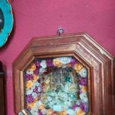 Antigüedades: RELICARIO CON CRUZ CARAVACA . Lote 152954338