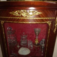 Antigüedades: MUEBLE VITRINA. Lote 152966586