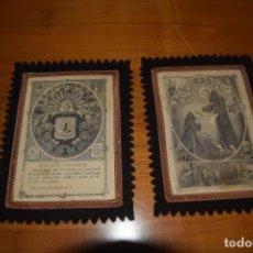 Antigüedades: ESCAPULARIO DE SAN FRANCISCO. Lote 178153149