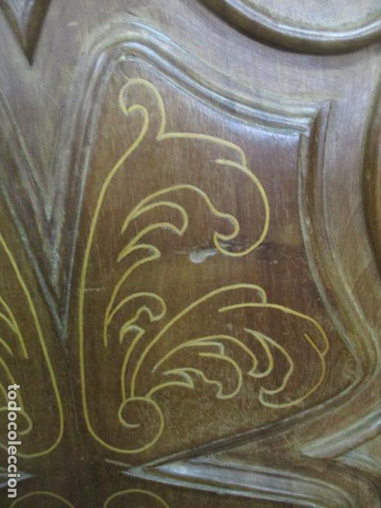 Antigüedades: Antiguo Armario Catalán, Barroco - Armario Empotrado - Puertas y Marco - Madera Nogal - Año 1768 - Foto 14 - 153012338