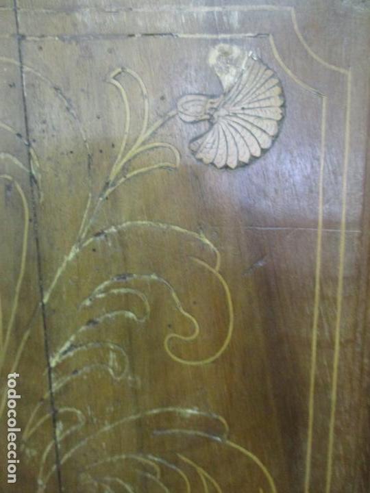 Antigüedades: Antiguo Armario Catalán, Barroco - Armario Empotrado - Puertas y Marco - Madera Nogal - Año 1768 - Foto 17 - 153012338