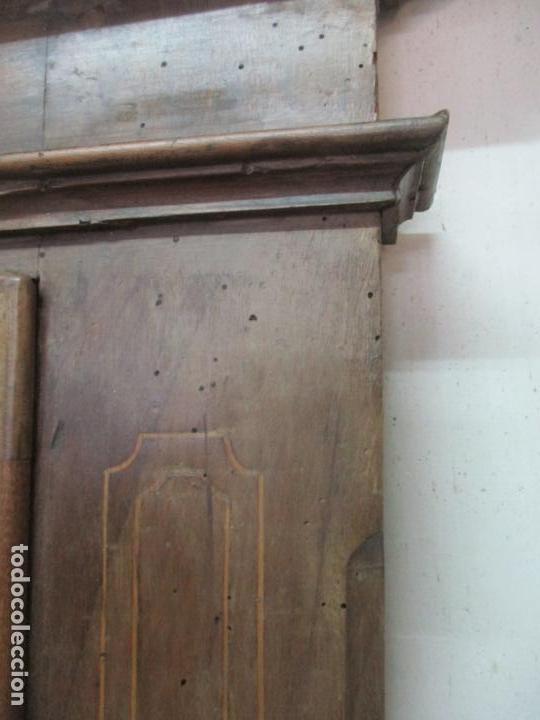 Antigüedades: Antiguo Armario Catalán, Barroco - Armario Empotrado - Puertas y Marco - Madera Nogal - Año 1768 - Foto 22 - 153012338