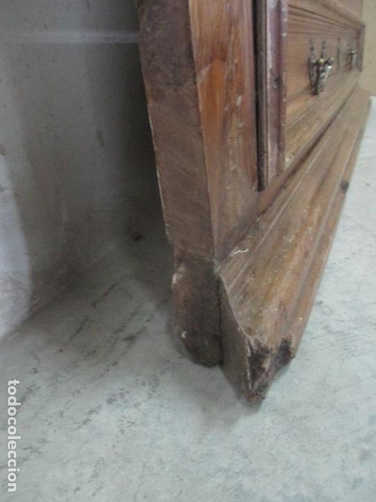 Antigüedades: Antiguo Armario Catalán, Barroco - Armario Empotrado - Puertas y Marco - Madera Nogal - Año 1768 - Foto 25 - 153012338