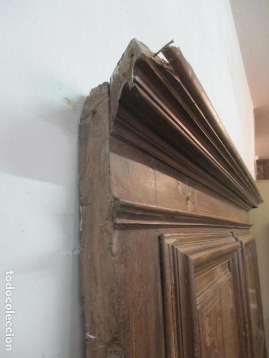 Antigüedades: Antiguo Armario Catalán, Barroco - Armario Empotrado - Puertas y Marco - Madera Nogal - Año 1768 - Foto 26 - 153012338