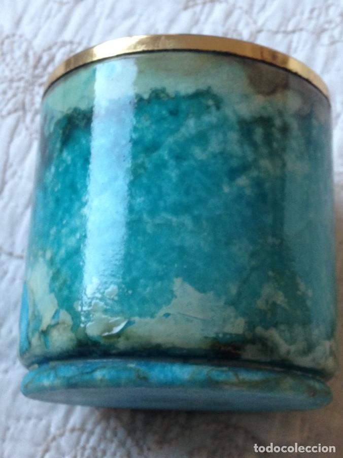 Antigüedades: ceniceros antiguos de alabastro - Foto 2 - 151474690
