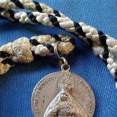 Antigüedades: SEMANA SANTA SEVILLA - MEDALLA CON CORDON DE LA HERMANDAD DEL CACHORRO - TRIANA. Lote 153036086