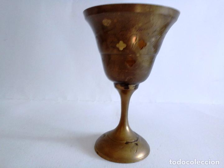 Antigüedades: Incensario de latón años 60 - Foto 3 - 153071266