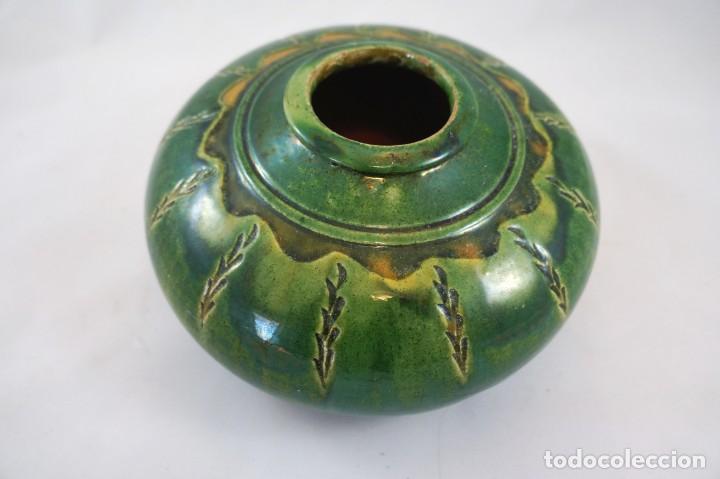 JARRÓN DE CERÁMICA TITO ÚBEDA ANTIGUO (Antigüedades - Porcelanas y Cerámicas - Úbeda)