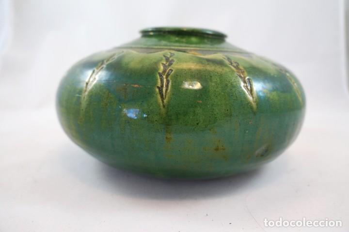 Antigüedades: jarrón de cerámica tito Úbeda antiguo - Foto 2 - 172161042