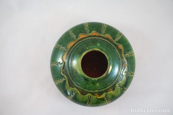 Antigüedades: jarrón de cerámica tito Úbeda antiguo - Foto 3 - 172161042