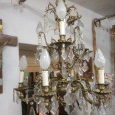 Antigüedades: LAMPARA DE TECHO PARA RESTAURAR. Lote 153071802