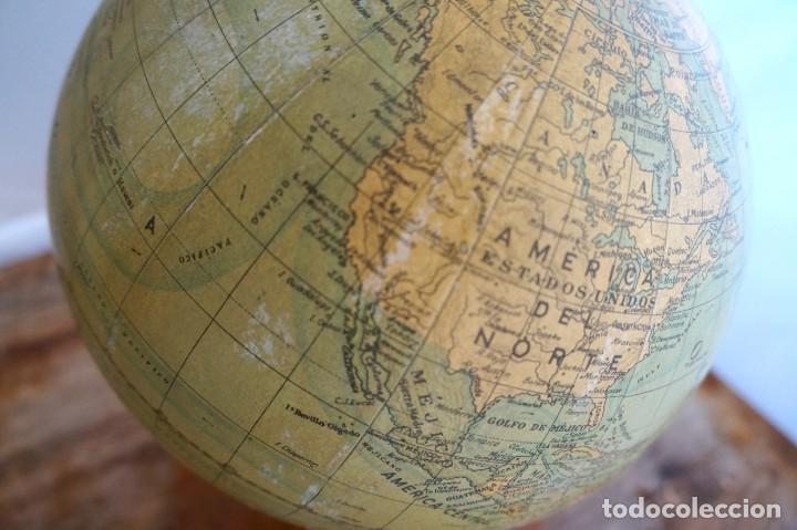 Antigüedades: Bola del mundo dalmau Carles Pla - Foto 2 - 153074094
