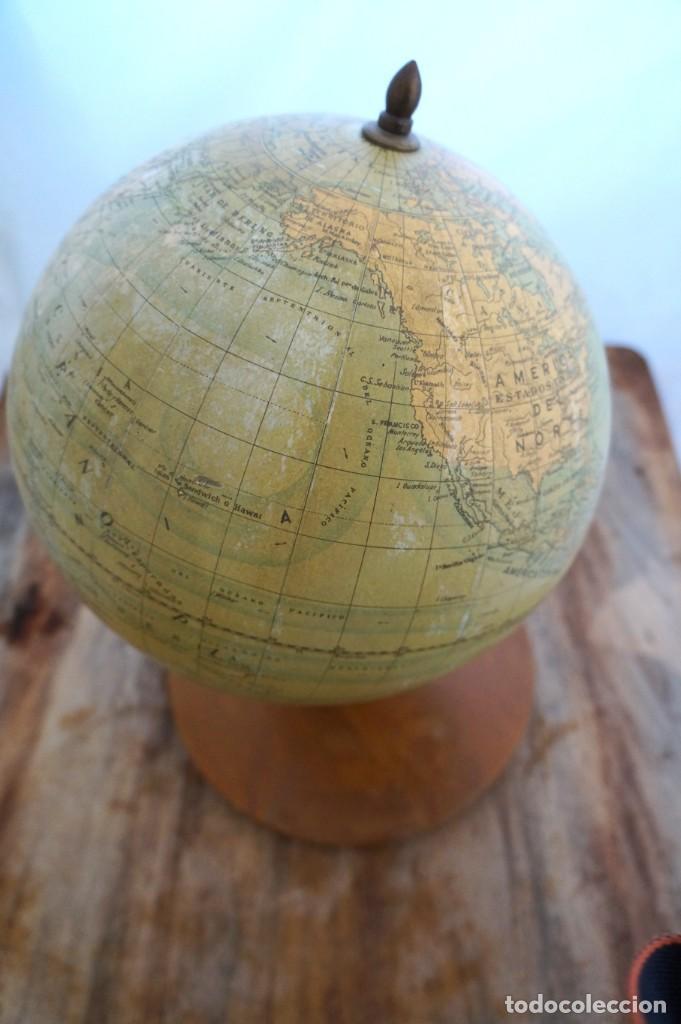 Antigüedades: Bola del mundo dalmau Carles Pla - Foto 5 - 153074094