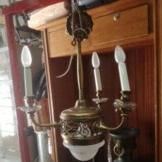Antigüedades: LAMPARA PARA RESTAURAR. Lote 153084120