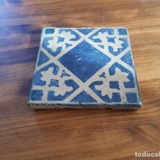 Antigüedades: AZULEJO O BALDOSA GOTICA RAJOLA . Lote 153088738