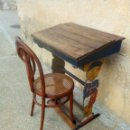 Antigüedades: PUPITRE ANTIGUO RARO. Lote 153127426