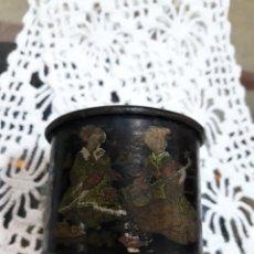 Antigüedades: ANTIGUA CAJA PARA POLVOS.. Lote 153131101