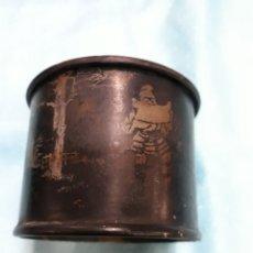 Antigüedades: ANTIGUA CAJA PARA POLVOS. Lote 153132377