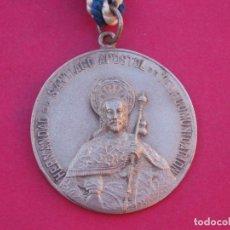 Antigüedades: MEDALLA MEDALLÓN ANTIGUO HERMANDAD DE SANTIAGO APÓSTOL DE TELECOMUNICACIONES.. Lote 153137434
