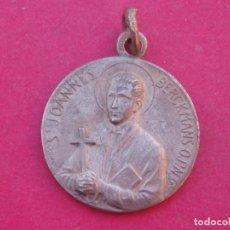 Antigüedades: MEDALLA ANTIGUA SAN JUAN BERCHMANS. SANTO JESUITA FLAMENCO.. Lote 153139538