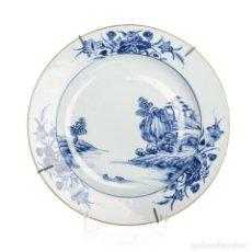 Antigüedades: SIGLO XVIII QIANLONG (1736-1795) PLATO DE PORCELANA CHINO. Lote 144908962