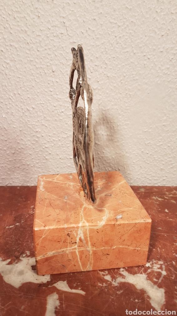 Antigüedades: ESCULTURA DE PLATA DE ESCULTOR BUCIÑOS. PESO PLATA 150 GR. - Foto 7 - 146176146