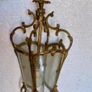 Antigüedades: FAROL DE BRONCE. Lote 153156878