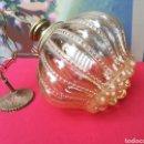 Antigüedades: LÁMPARA ART DECÓ (BUBBLE GLASS). Lote 153188126