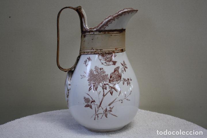 GRAN JARRA DE PICMAN Y CÍA. SELLO EN BASE. ALTURA: 31.5 CMS. (Antigüedades - Porcelanas y Cerámicas - La Cartuja Pickman)