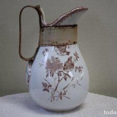 Antigüedades: GRAN JARRA DE PICMAN Y CÍA. SELLO EN BASE. ALTURA: 31.5 CMS.. Lote 153199838