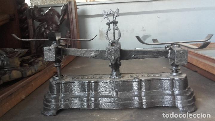 Antigüedades: Balanza 5 kgs sin platillos - Foto 3 - 153214078