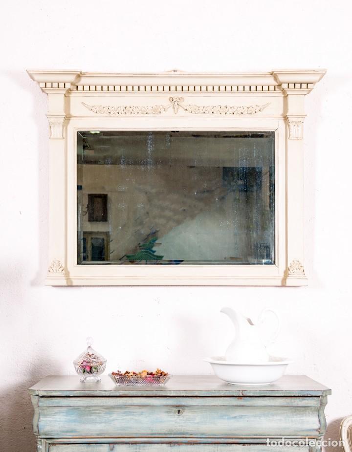 ESPEJO ANTIGUO RESTAURADO EMILE (Antigüedades - Muebles Antiguos - Espejos Antiguos)