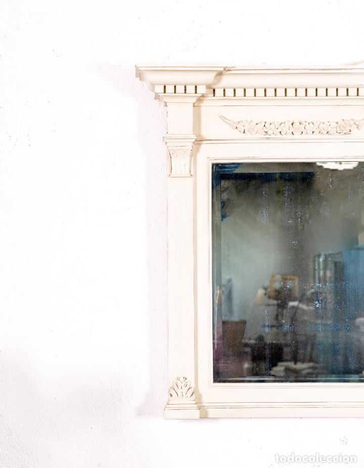 Antigüedades: Espejo Antiguo Restaurado Emile - Foto 2 - 153214734