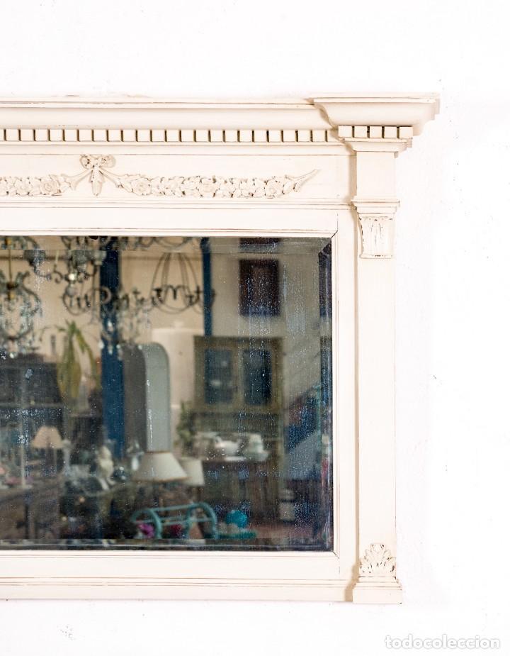 Antigüedades: Espejo Antiguo Restaurado Emile - Foto 3 - 153214734