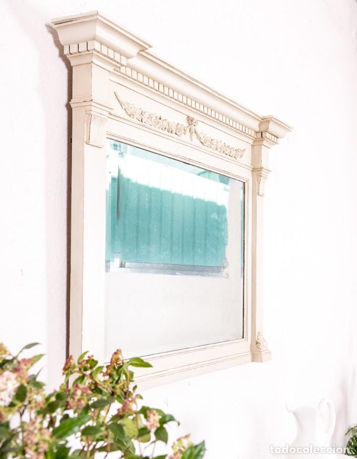 Antigüedades: Espejo Antiguo Restaurado Emile - Foto 4 - 153214734