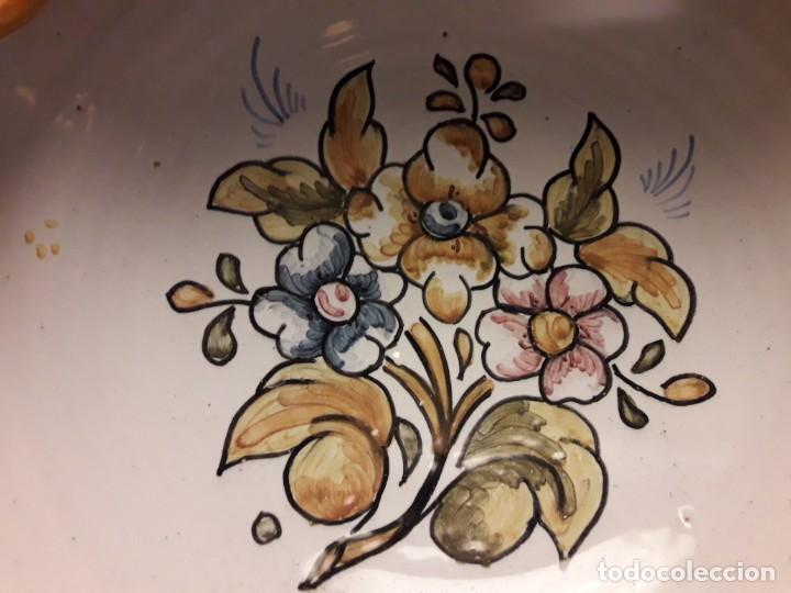 Antigüedades: Precioso antiguo cenicero cerámica talavera - Foto 7 - 153227598