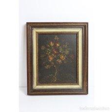 Antigüedades - Antiguo óleo enmarcado - 153243642
