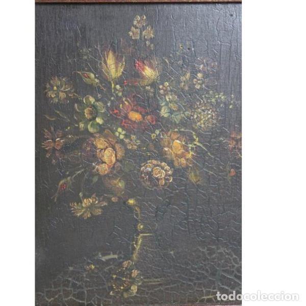 Antigüedades: Antiguo óleo enmarcado - Foto 2 - 153243642