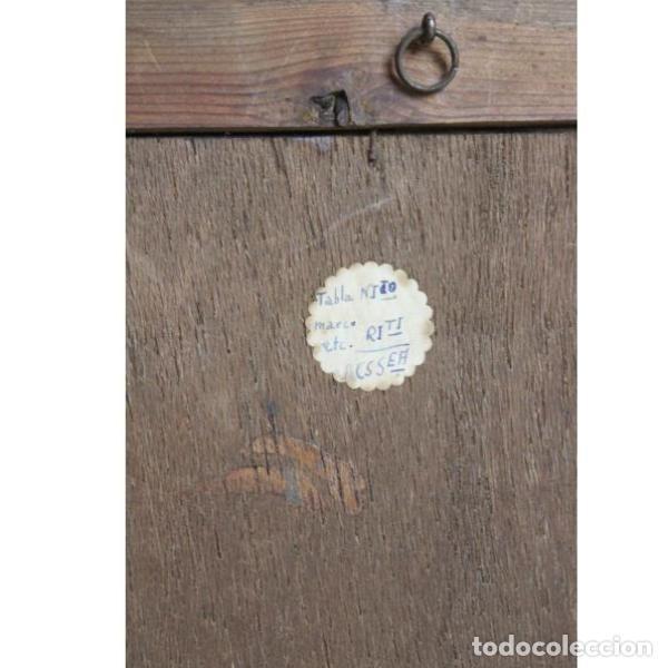 Antigüedades: Antiguo óleo enmarcado - Foto 5 - 153243642
