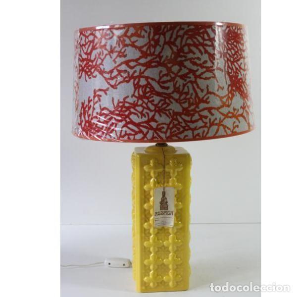ANTIGUA LÁMPARA RETRO VINTAGE MANISES (Antigüedades - Iluminación - Lámparas Antiguas)