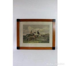 Antigüedades: ANTIGUA LÁMINA DEL AÑO 1857. Lote 153248478