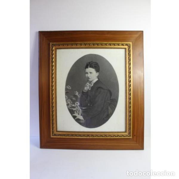 ANTIGUA FOTOGRAFÍA DE RETRATO DEL SIGLO XIX (Antigüedades - Varios)