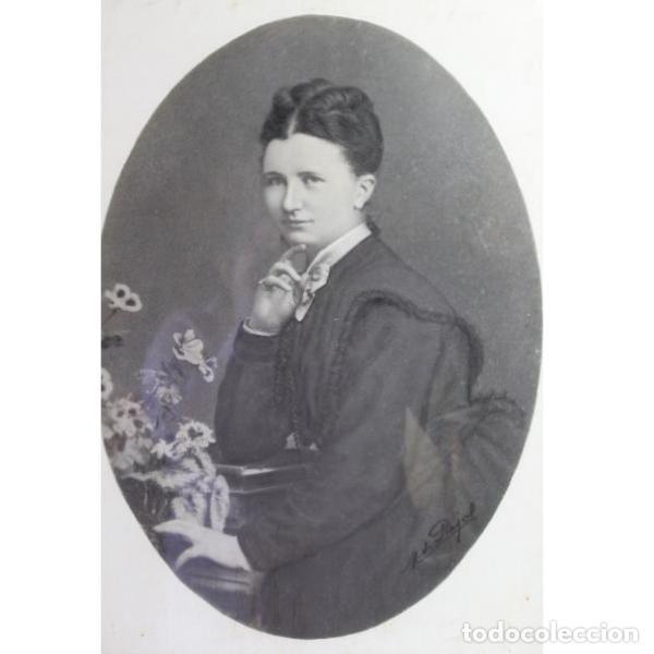 Antigüedades: Antigua fotografía de retrato del siglo XIX - Foto 2 - 153249458