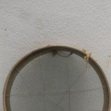 Antigüedades: ANTIGUO CRIBA CEDAZO TAMIZ DE 82 CM DE DIÁMETRO. Lote 153249752