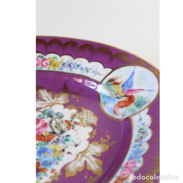 Antigüedades: Antigua bandeja de porcelana - Foto 3 - 153250174